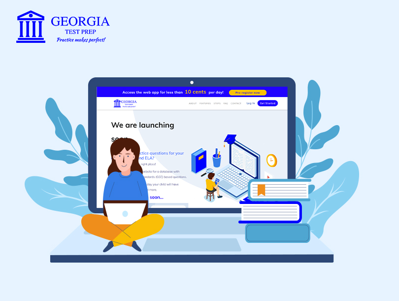 What is the story behind Georgia Test Prep?