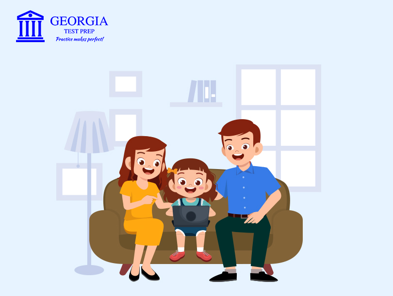 parent child communication-Georgia Test Prep