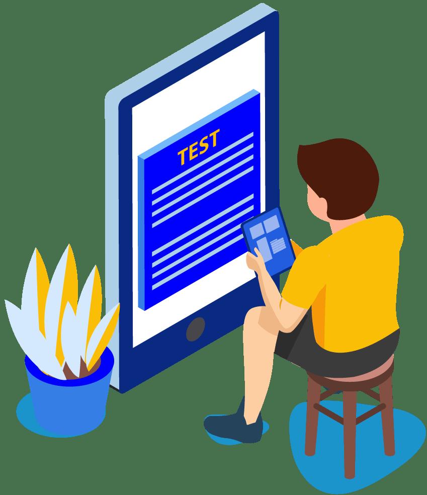 Image showing learning kid-Georgia Test Prep